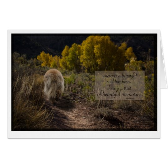 beautiful soul leonberger sympathy card