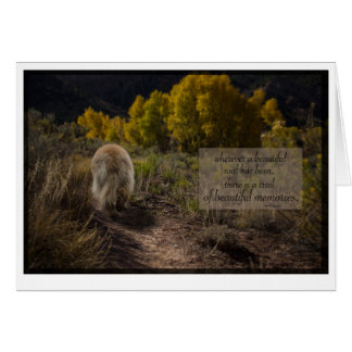 beautiful soul leonberger sympathy note card