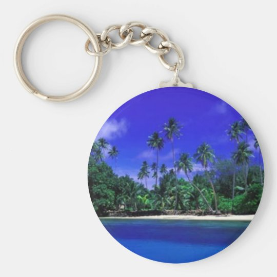 Beautiful South Pacific Key Chain