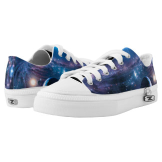 Beautiful Space Galaxy Printed Shoes