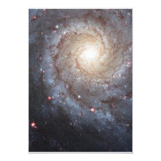 Beautiful Space Photography 13 Cm X 18 Cm Invitation Card