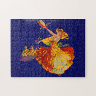 beautiful Spanish dancer Puzzle