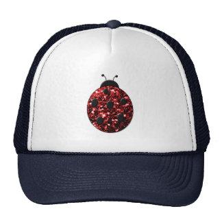 Beautiful Sparkling red sparkles Ladybird Ladybug Cap