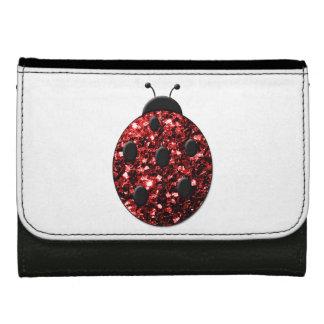 Beautiful Sparkling red sparkles Ladybird Ladybug Wallet