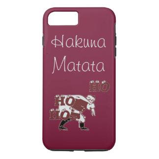 Beautiful Special Santa Hohoho Hakuna Matata iPhone 8 Plus/7 Plus Case