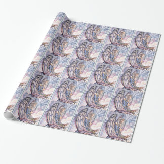 Beautiful Spiritual Angel by Molly Harrison Wrapping Paper