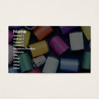 Beautiful Spools of thread Business Card