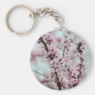 Beautiful Spring Cherry Blossom Keychain