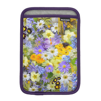 Beautiful Spring Meadow Flowers iPad Sleeve