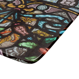 Beautiful Stained Glass Cutting Board