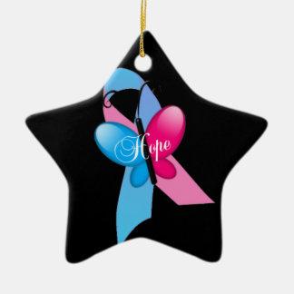 Beautiful star ornamentation christmas ornament