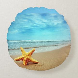 beautiful starfish and beach pillow