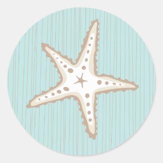 Beautiful Starfish Sticker