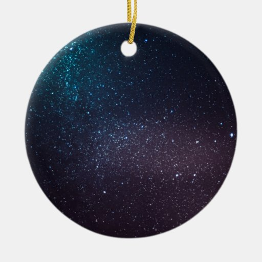 Beautiful starry sky ornaments
