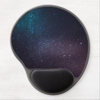 Beautiful starry sky gel mouse mat