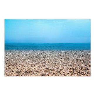 Beautiful Stone Beach Photographic Print