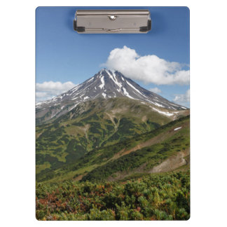 Beautiful summer mountain landscape clipboard