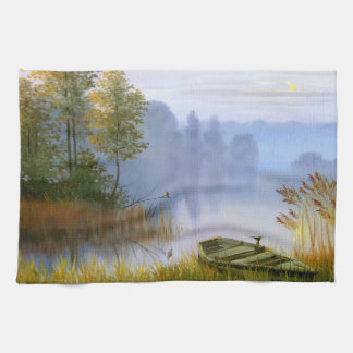 Beautiful Summer Painting Kitchen Towel