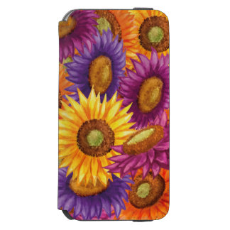 Beautiful Sun Flowers Incipio Watson™ iPhone 6 Wallet Case
