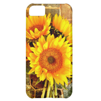 Beautiful Sunflower Bouquet Gifts iPhone 5C Case