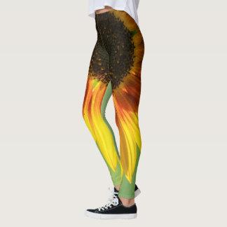 Beautiful sunflower leggings