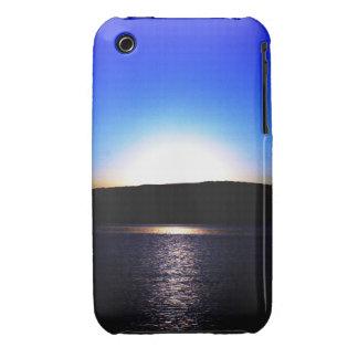 Beautiful Sunset blue iPhone 3 Case-Mate Case