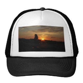 Beautiful sunset cap