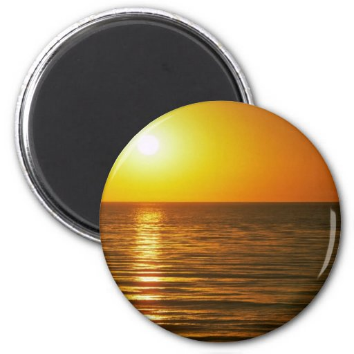 Beautiful Sunset: Cardiff-By-The-Sea, California Refrigerator Magnet