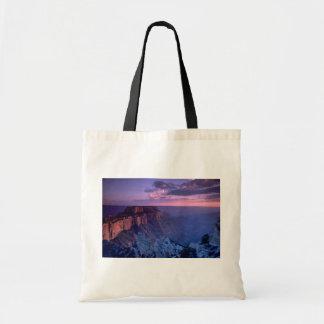 Beautiful Sunset: Grand Canyon, Arizona Tote Bags