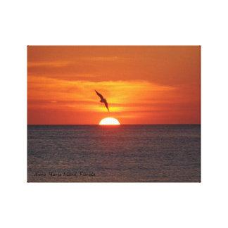 Beautiful Sunset in Florida Canvas Print