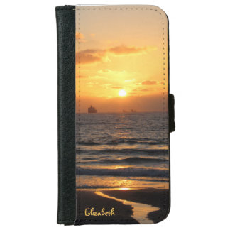 Beautiful Sunset in Haifa iPhone 6 Wallet Case