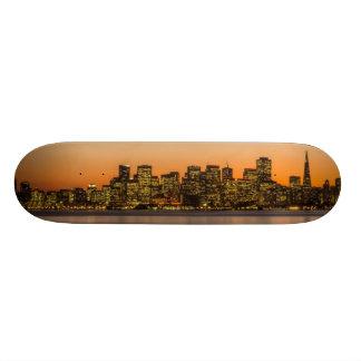 Beautiful sunset in San Francisco 20.6 Cm Skateboard Deck