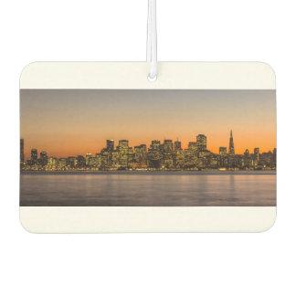 Beautiful sunset in San Francisco Car Air Freshener