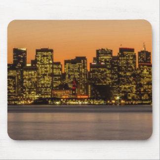 Beautiful sunset in San Francisco Mouse Mat
