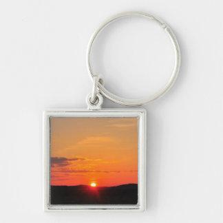 Beautiful sunset key chain
