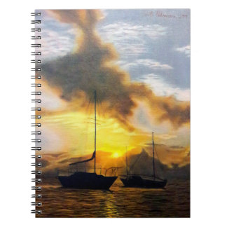 Beautiful Sunset Note Books