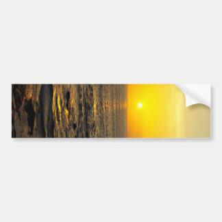 beautiful sunset on Bali island Bumper Sticker