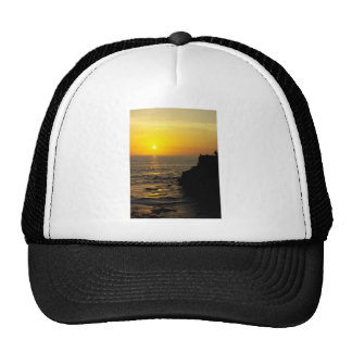 beautiful sunset on Bali island Cap