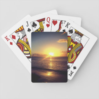 Beautiful Sunset Playing Cards