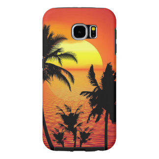 Beautiful sunset samsung galaxy s6 cases