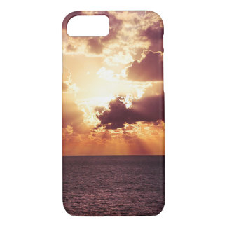 Beautiful sunset scenery iPhone 7 case