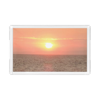 Beautiful Sunset Small Rectangle Tray