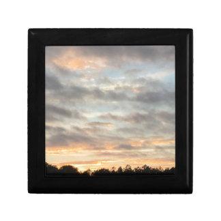 Beautiful Sunset Small Square Gift Box