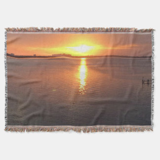 Beautiful Sunset Throw Blanket