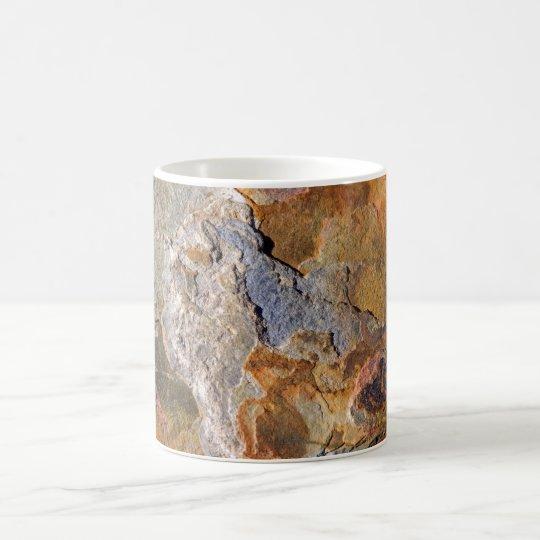 Beautiful Surface Rich Hues Rock Abstract Coffee Mug