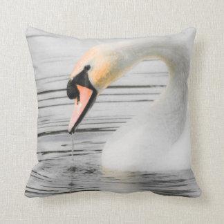 Beautiful Swan American Mojo Pillow/Cushion Cushion