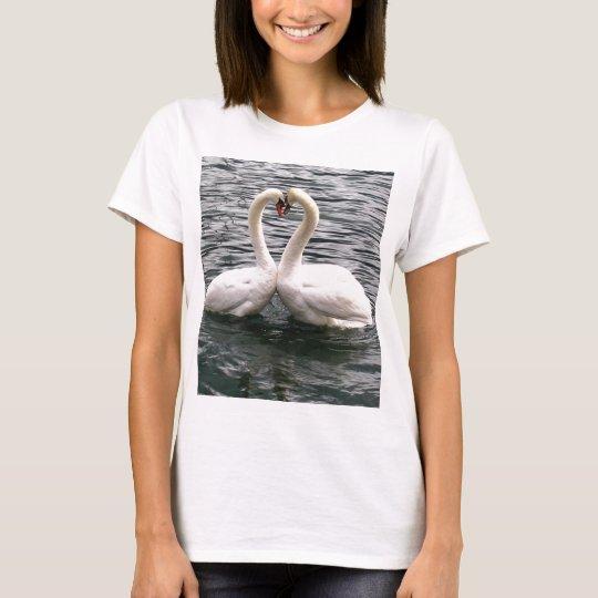 Beautiful swan pair T-Shirt