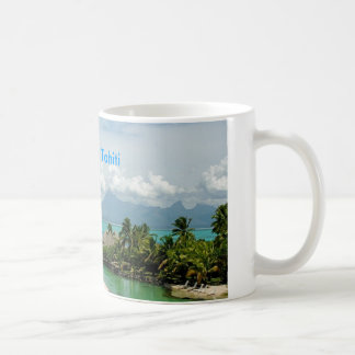 Beautiful Tahiti Basic White Mug