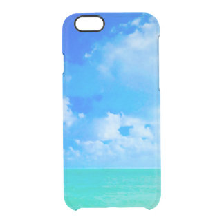 Beautiful Tahiti Tropical Ocean Horizon iPhone 6 Plus Case