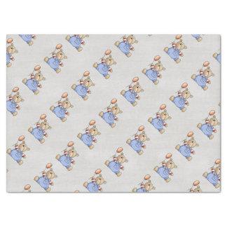 Beautiful Teddy Bear Tissue Paper